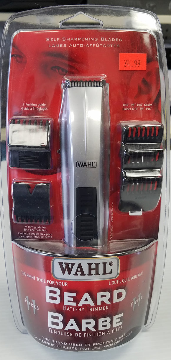 Wahl Cordless Battery Operated Beard Trimmer Model 3224 - NEW™ - Razzaks Computers - Great Products at Low Prices