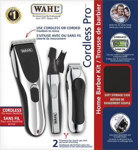 Wahl 36 Piece Complete Cordless Home Haircutting Kit, Includes 1 Hair Clipper, 2 Hair TrimmersModel 3155 - Razzaks Computers - Great Products at Low Prices