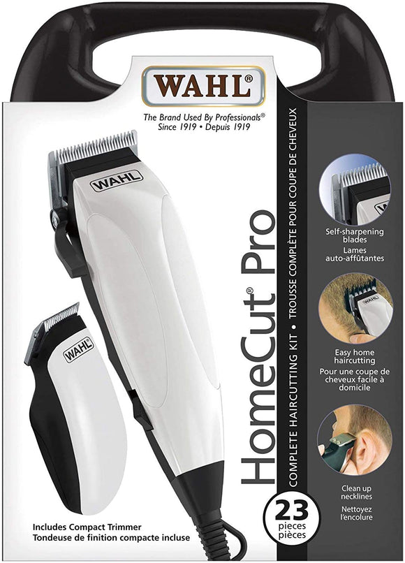 Wahl 23-Piece Home Cut Pro Hair Clipper, Hair Trimmer, Haircutting Kit Model 3108 - Brand New - Razzaks Computers - Great Products at Low Prices