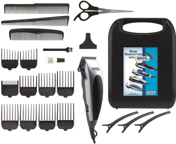 Wahl 22-Piece Home Pro Hair Clipper, Hair Trimmer, Haircutting Kit - Brand New - Razzaks Computers - Great Products at Low Prices