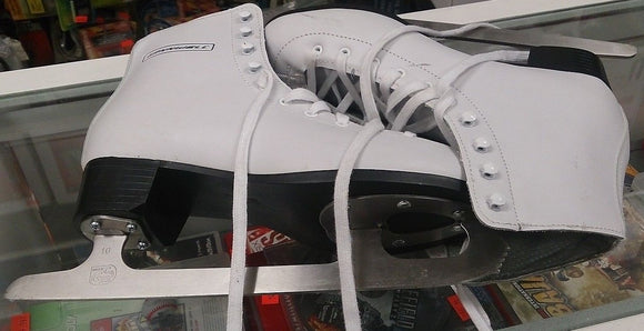 Winnwell White Figure Skates size 10 - Razzaks Computers - Great Products at Low Prices