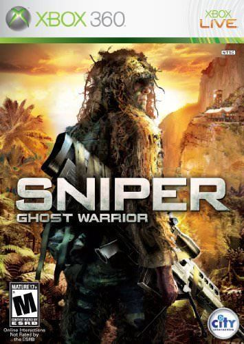 XBOX 360 Game - Sniper Ghost Warrior - New