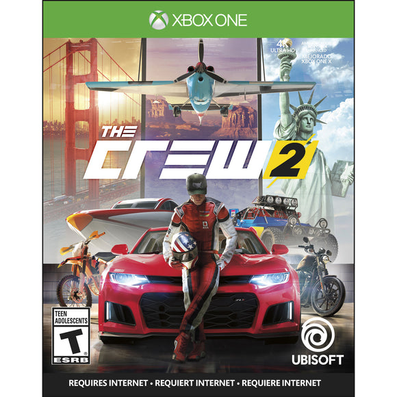 The Crew 2 (Xbox One) - English - New - Razzaks Computers - Great Products at Low Prices