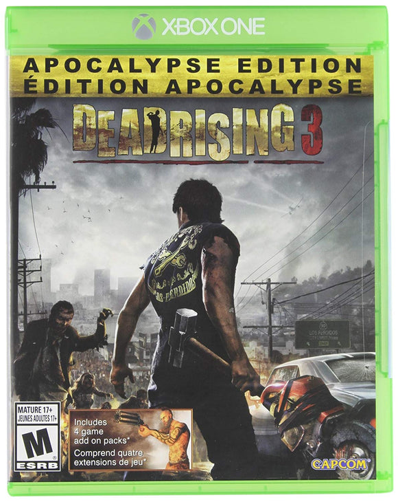 Dead Rising 3 Apocalypse Edition - Xbox One - Used - Razzaks Computers - Great Products at Low Prices