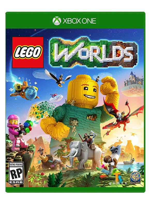 Warner Bros Lego Worlds Xbox One - Used - Razzaks Computers - Great Products at Low Prices