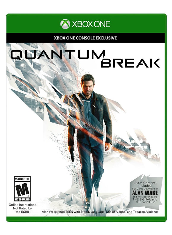 Quantum Break - Xbox One - Used - Razzaks Computers - Great Products at Low Prices