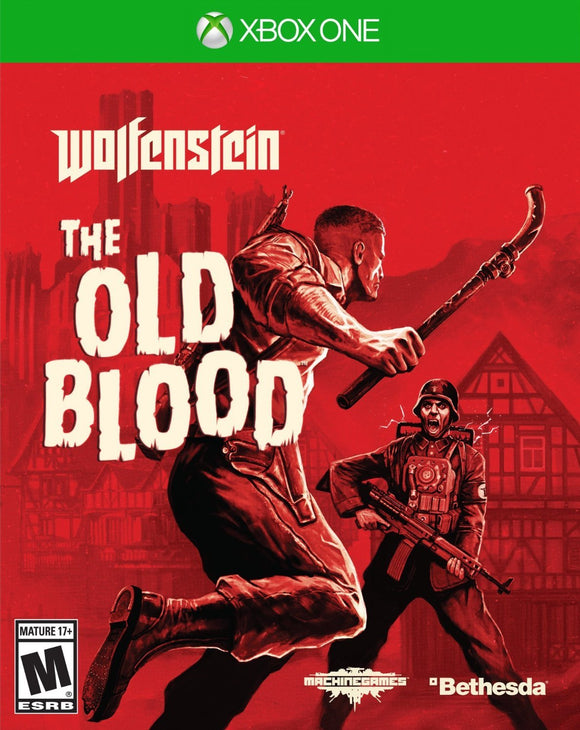 Wolfenstein: The Old Blood - Xbox One - Used - Razzaks Computers - Great Products at Low Prices