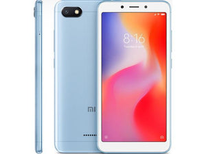 Xiaomi Redmi 6, 5.45 inch 3GB RAM 32GB ROM 4G Smartphone - Blue - Brand New - Razzaks Computers - Great Products at Low Prices