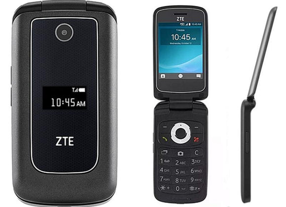 ZTE Cymbal Z320 Unlocked 4G LTE GSM Bluetooth Phone - New