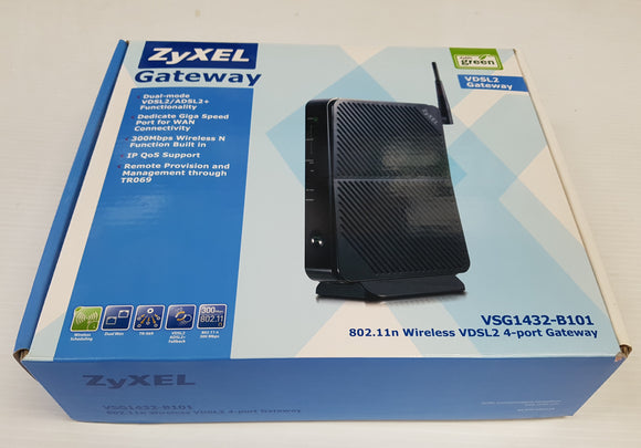 ZyXEL Gateway VDSL 2 Gateway and Wireless Router VSG1432-B101- Used - Razzaks Computers - Great Products at Low Prices