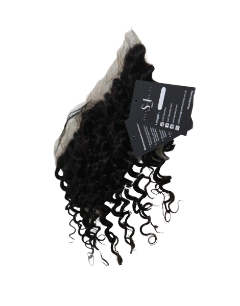 Luxe Deep wave frontal - Swiss lace