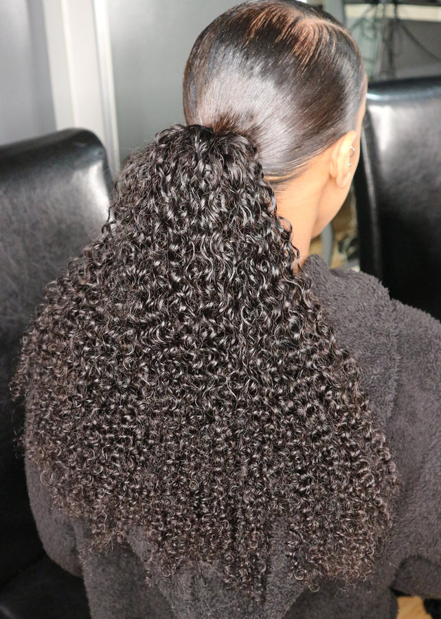 Luxe Kinky Curly Ponytail