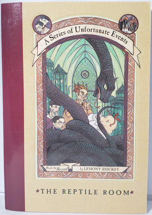 The Reptile Room: Lemony Snicket