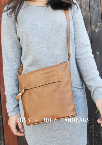 Leather Cross - Body Bags