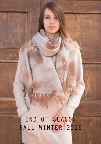 End of Season Sale - Fall Winter