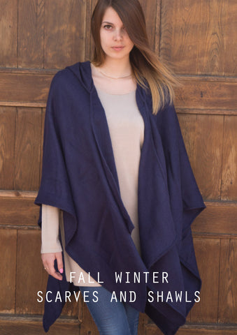 Winter Scarves, Shawls. Ponchos + Things