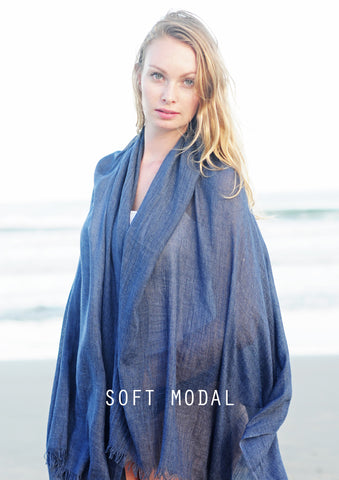 Soft Modal - Sheer with a elegant drape and hand...a bio / synthetic developed in Leipzig in the 70's