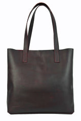 Museum Bag - Natural Oxblood - Allow 4-5 weeks for delivery