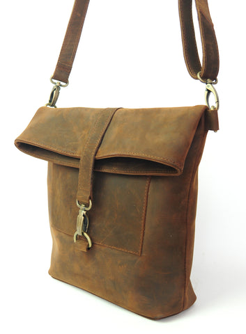 Workbench Shoulder Bag - Natural Medium Brown - Allow 4-5 weeks for delivery