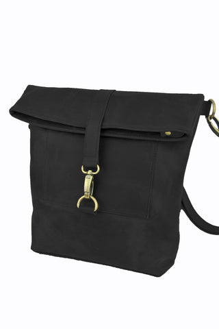 Workbench Shoulder Bag - Natural Black