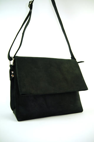 Geometry Leather Shoulder Bag - Allow 4-5 weeks for delivery