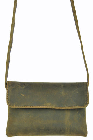 Cross - Body Mini - Natural Medium Brown - Allow 4-5 weeks for delivery