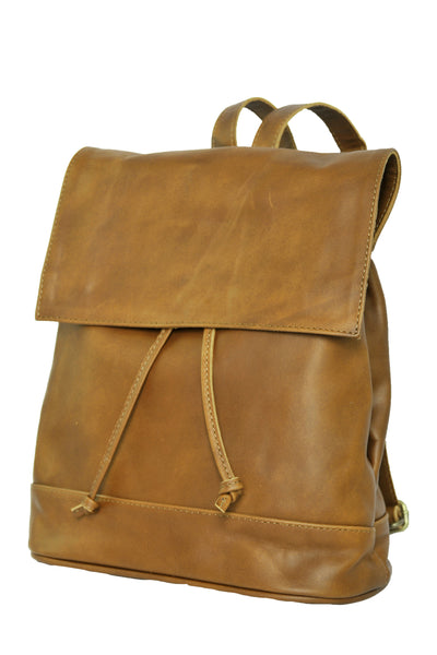 Convertible Black Leather Backpack - Soft Light Brown - Allow 4-5 weeks for delivery