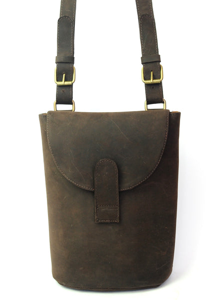 Field Bag - Natural Dark Brown - Allow 4-5 weeks for delivery