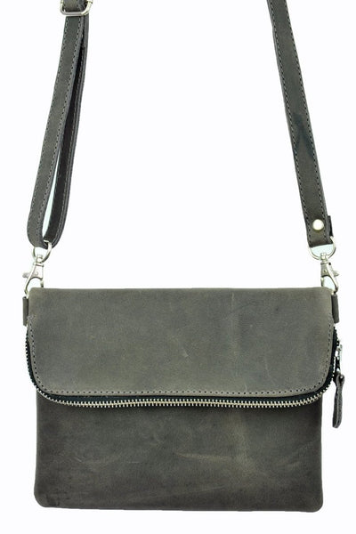 Saddle Bag Mini - Natural Gray