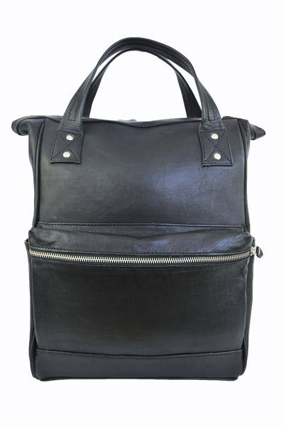 Weekend Backpack - Soft Black - Allow 4-5 weeks for delivery