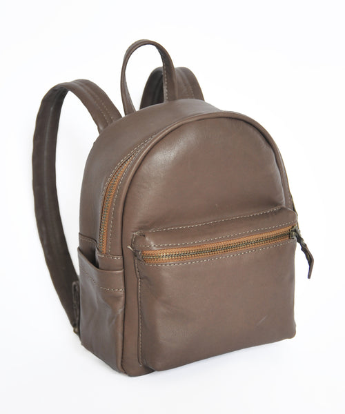 Alpha Backpack - Small - Soft Chocolate Brown - Allow 4-5 weeks for delivery