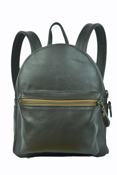 Alpha Backpack - Small - Soft Dark Chocolate Brown