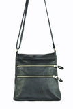Madison Cross Body - Soft Black - Allow 4-5 weeks for delivery