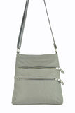 Madison Cross Body - Soft Light Gray