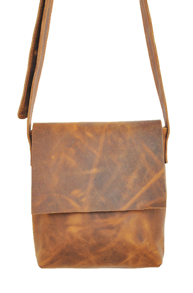 Eindhoven Bag - Small - Natural Medium Brown - Allow 4-5 weeks for delivery