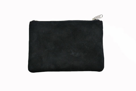 Simple Pouch - Natural Black - Allow 4-5 weeks for delivery