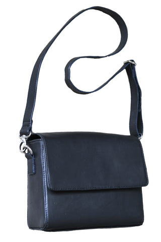 Small Mod Art Bag w Strap - Soft Black - Allow 4-5 weeks for delivery