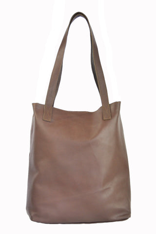 Vert Tote - Soft Chocolate Brown