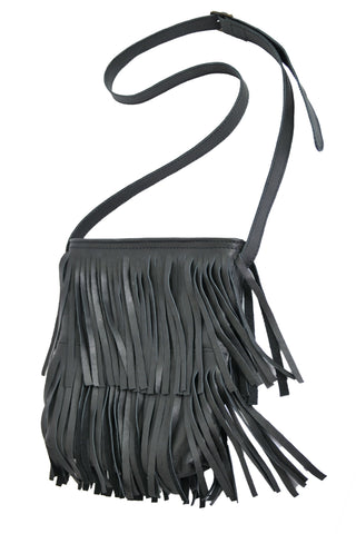 Los Angeles Cross-Body - Soft Black - Allow 4-5 weeks for delivery
