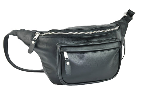 Waist Bag - Soft Black - Allow 4-5 weeks for delivery