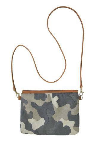 Camo Sling w Leather Strap