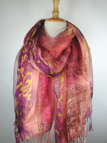 S603 Silk w Viscoe - Purple