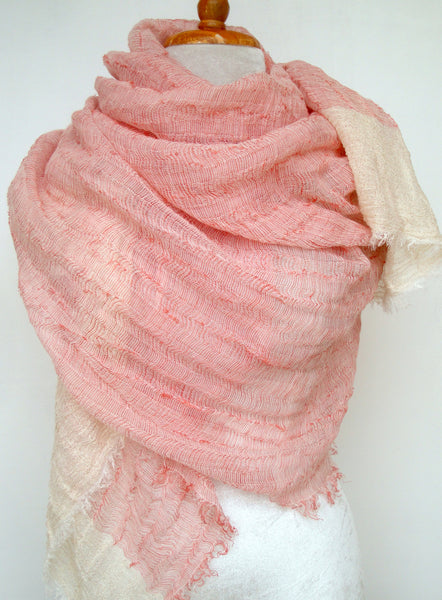 Sea Cliff Wrap - Pink