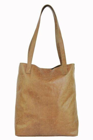 Vert Tote - Soft Light Brown - Allow 4-5 weeks for delivery