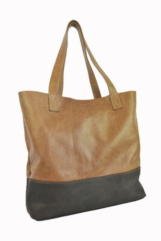 Palomino Tote - Soft Light Brown - Allow 4-5 weeks for delivery