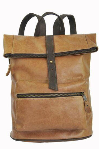 Palomino Bucket Backpack - Soft Light Brown - Allow 4-5 weeks for delivery