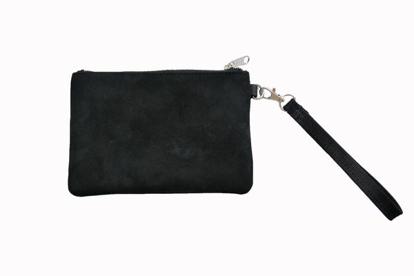 Day Pouch - Natural Black - Allow 4-5 weeks for delivery