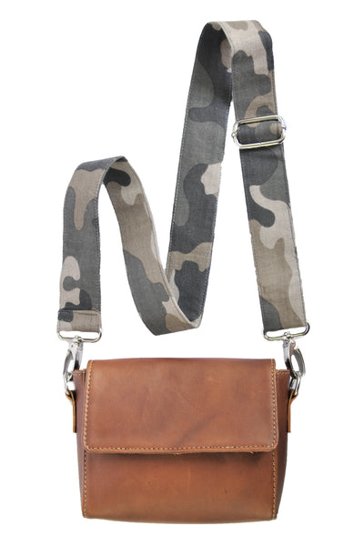 Camo Shoulder Bag - Allow 4-5 weeks for delivery