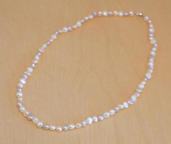 NM natural pearl necklace 16'' NM natural pearl necklace 16""