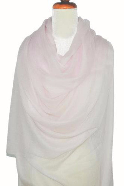 Cashmere Luxembourg Wrap - Pink